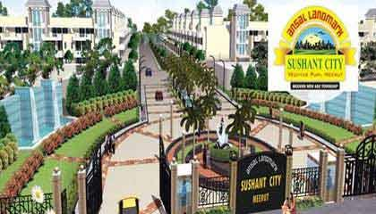 Property in Landmark Sushant City ,Vedvyas Puri Meerut
