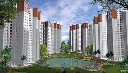 Flat in Diamond City South ,Tollygunge Kolkata