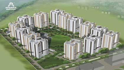 Flat in Aparna Sarovar ,Nallagandla Hyderabad