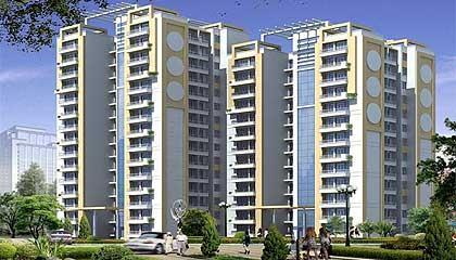 Flat in Omaxe Residency ,Sultanpur Road Lucknow