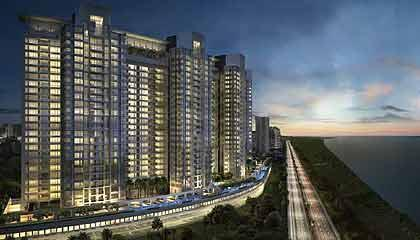 Apartment in Palm Beach Residency ,Navi Mumbai