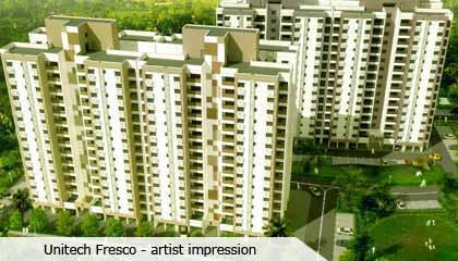Flat in Unitech Fresco ,Uniworld City Kolkata