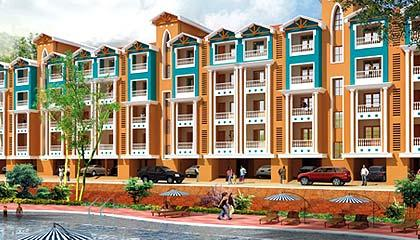 Flat in Sapana Raj Valley ,Sangolda, Bardez Goa