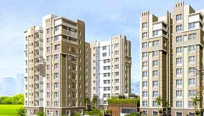 Flat in Active Greens ,EM Bypass Kolkata