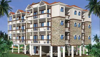 Apartment in Aqua Grandiosa ,Arpora, Bardez