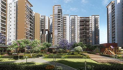 Flat in Brigade Cosmopolis ,Whitefield Main Road Bangalore