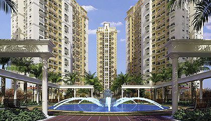 in DLF New Town Heights Kolkata ,Rajarhat New Town Kolkata