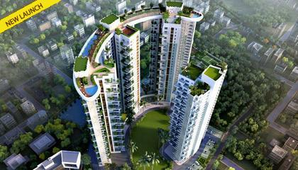 Flat in Siddha Sky ,Canal South Road, Near Chingrihata, Off EM Bypass. Kolkata