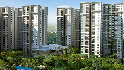 Flat in Sobha Silicon Oasis ,Off Hosa Road Bangalore