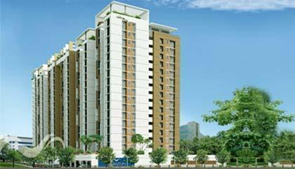 Apartment in Tulive Horizon ,Saligramam Chennai