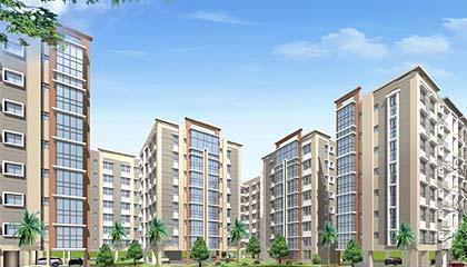 Flat in Urban Greens ,Rajarhat New Town Kolkata